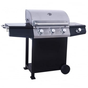 St Vincent 3 Burner Gas BBQ