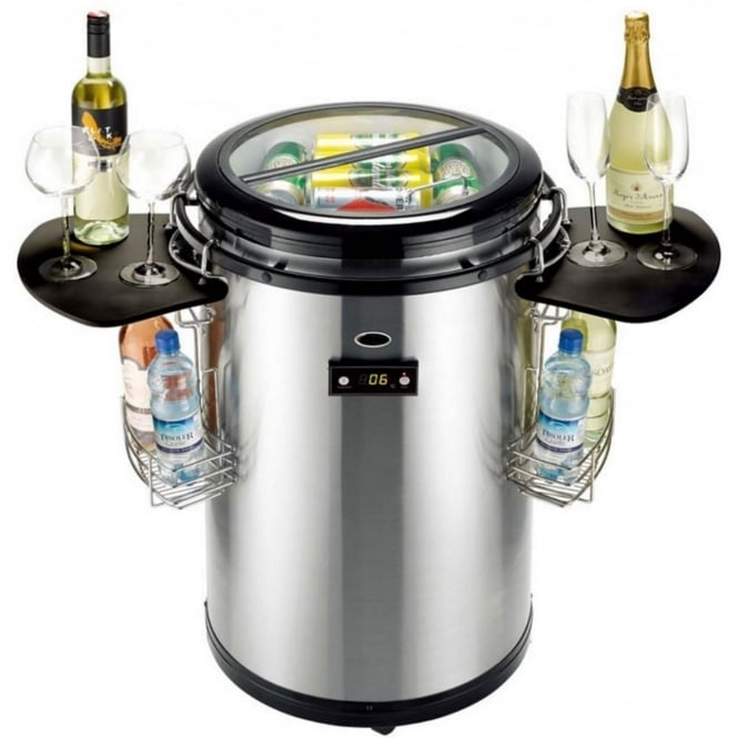 Lifestyle Stainless Steel Party Cooler 50L