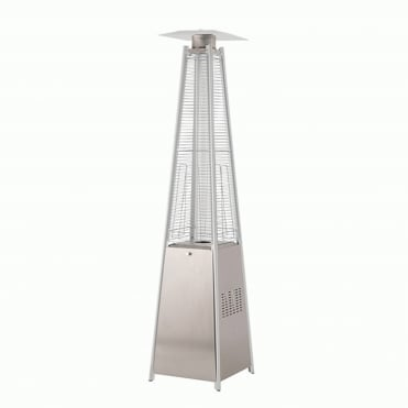 Tahiti Stainless Steel 13kW Gas Patio Heater