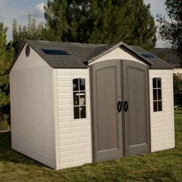 Plastic Apex Roof Shed 10X8