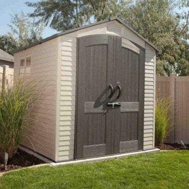 Plastic Apex Roof Shed 7X7