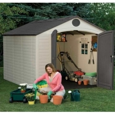 Plastic Apex Roof Shed 8X10