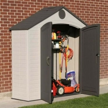 Plastic Apex Roof Shed 8X2.5