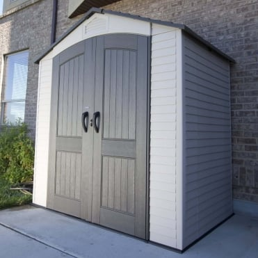 Plastic Apex Shed 7X4.5