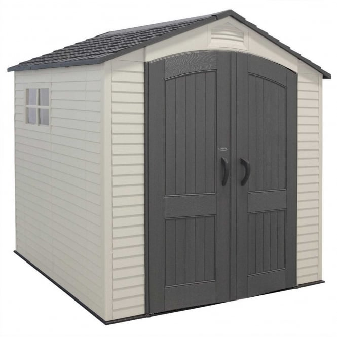 Lifetime Plastic Apex Shed 7X7