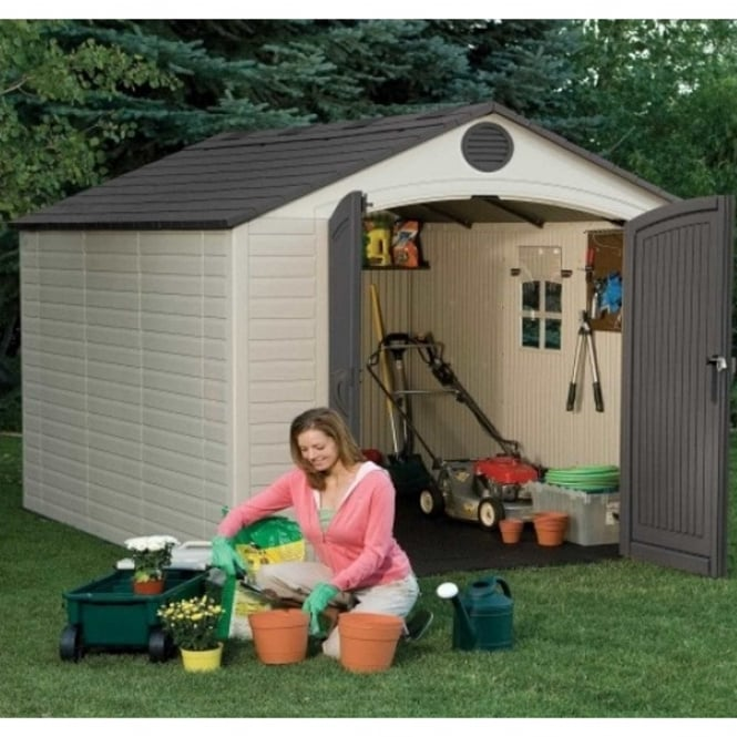 Lifetime Plastic Apex Shed 8X10