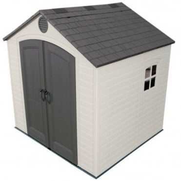 Plastic Apex Shed 8X7.5