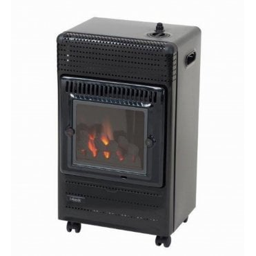 Living Flame 3.4kW Cabinet Heater