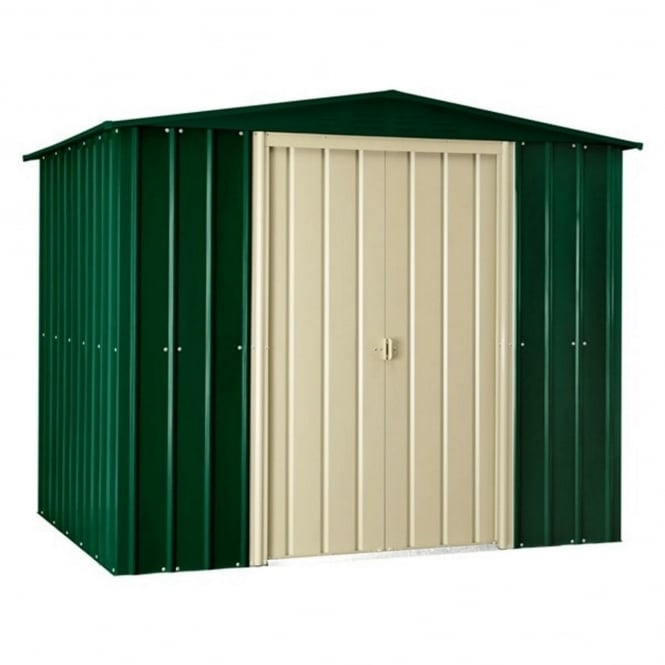Lotus Metal Apex Shed 8X5
