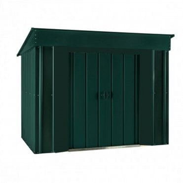Metal Low Pent Shed 6X4