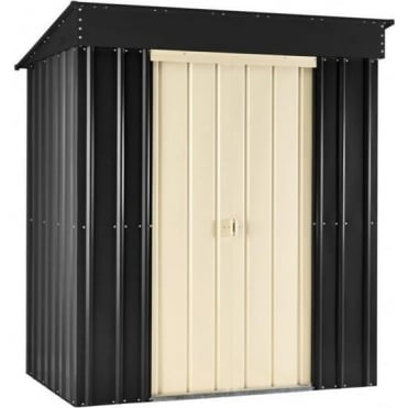 Metal Pent Shed 8X3