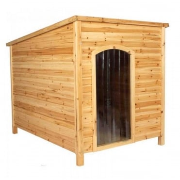 Manorhouse Solid Cedar Dog Home