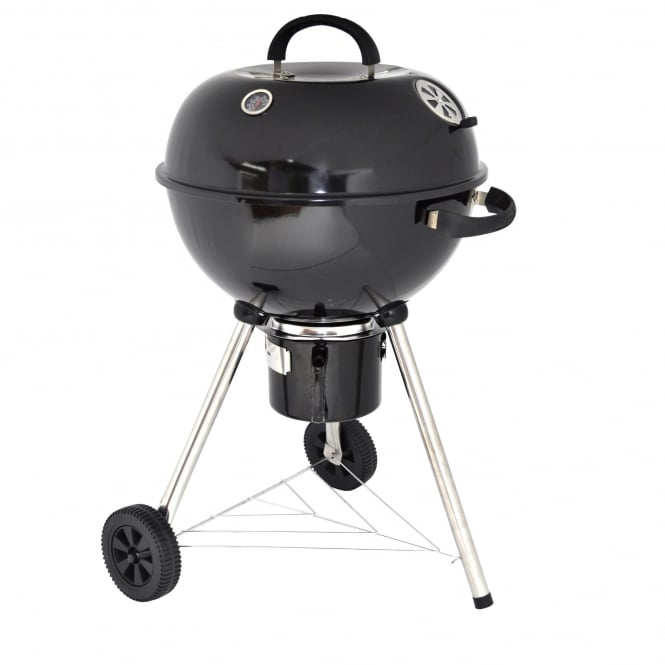Master Cook 57cm Deluxe Kettle Charcoal BBQ