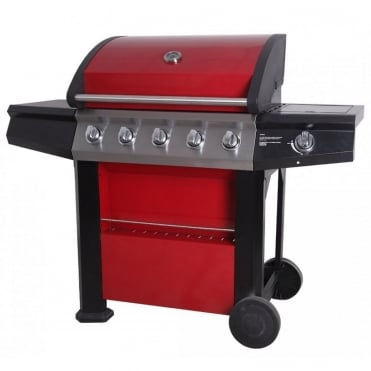 Connoisseur 600 Deluxe 5 Burner Gas BBQ