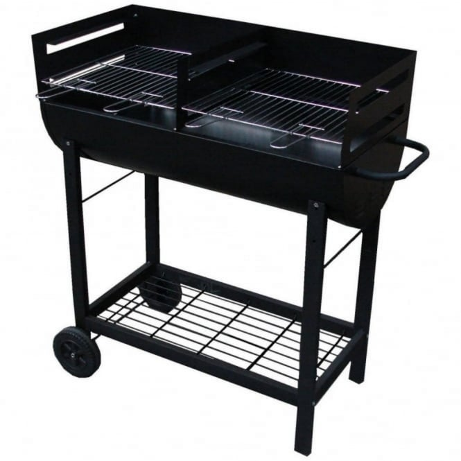 Master Cook Drum Charcoal BBQ