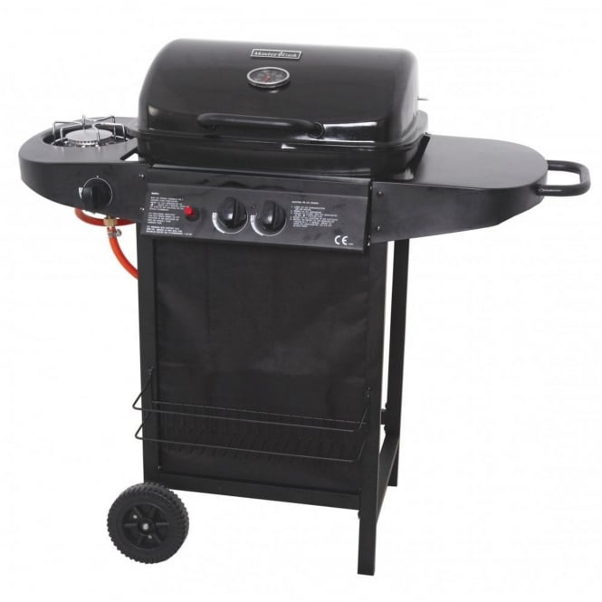 Master Cook Rodeo 2 Burner Gas BBQ