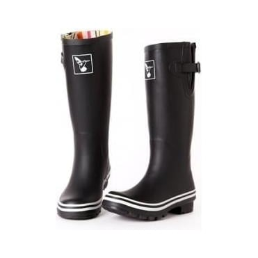 Matt Black Wellies