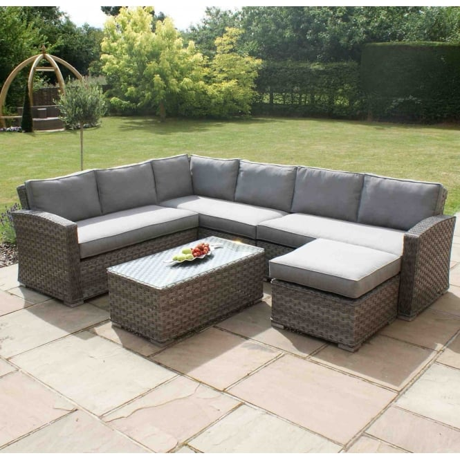 Maze Rattan Victoria Large Corner Group