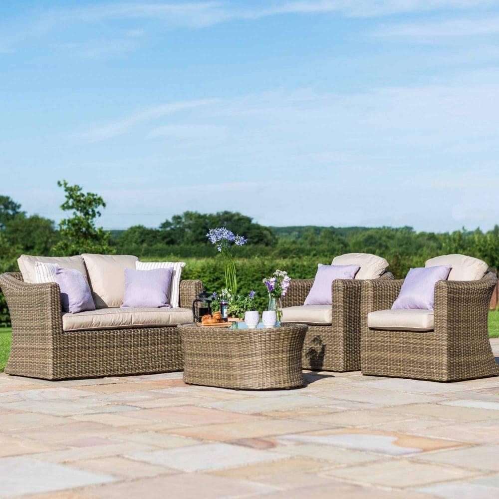 maze rattan winchester 2 seat sofa set gardenstreet. Black Bedroom Furniture Sets. Home Design Ideas