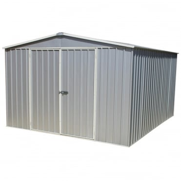 Absco Space Saver Titanium Metal Shed 10X12