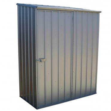 Absco Space Saver Titanium Metal Shed 5X3