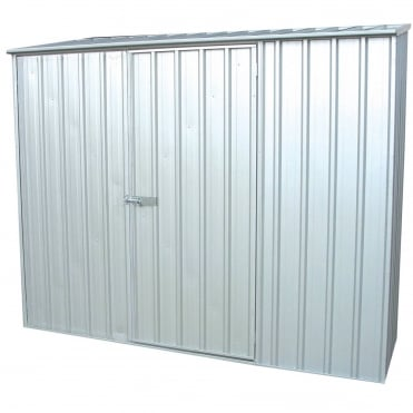 Absco Space Saver Titanium Metal Shed 7X5