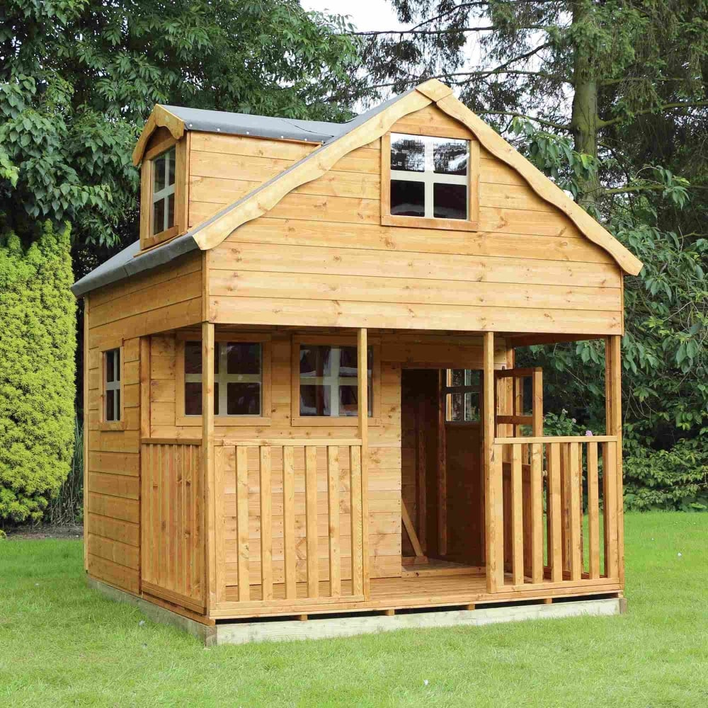 Outdoor Kitchen Kits For Sale: Mercia Dormer Playhouse
