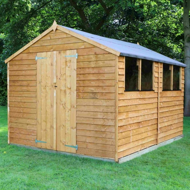 Mercia Overlap Apex Shed 12X8