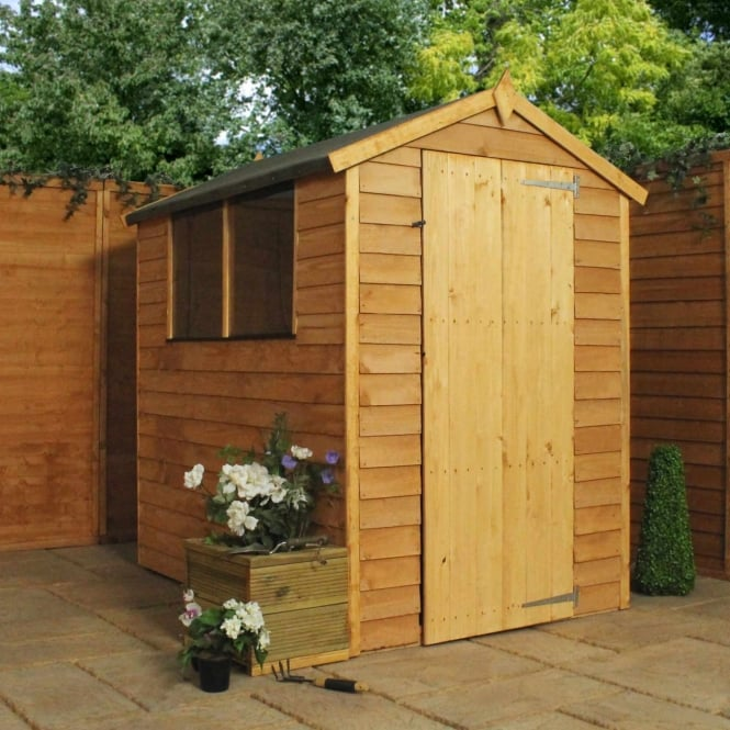 Mercia Overlap Apex Shed 6X4