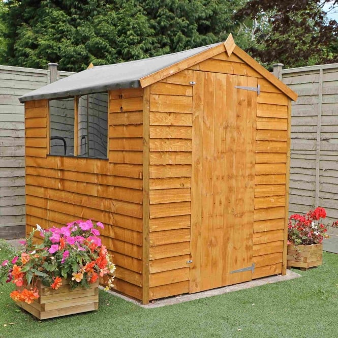 Mercia Overlap Apex Shed 7X5