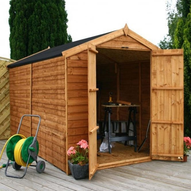 Mercia Overlap Apex Windowless Shed 10X6