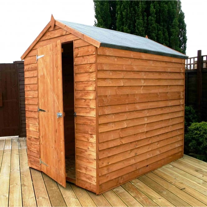 Mercia Overlap Apex Windowless Shed 7X5