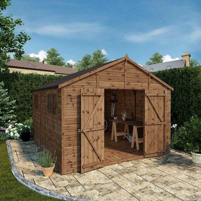 Mercia Premium Shiplap T&G Workshop 12x10