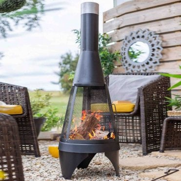 Mesh Colorado Chimenea Medium
