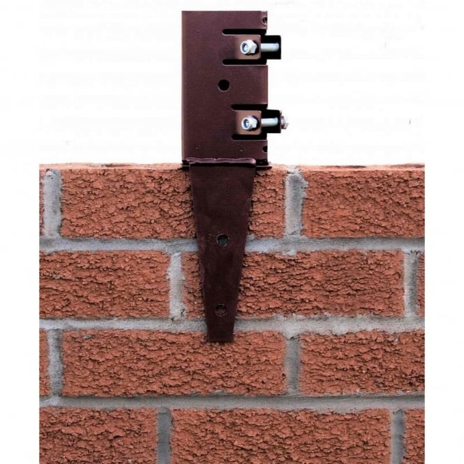Metpost Wall Anchor Post Support For 75mm Sq. Posts