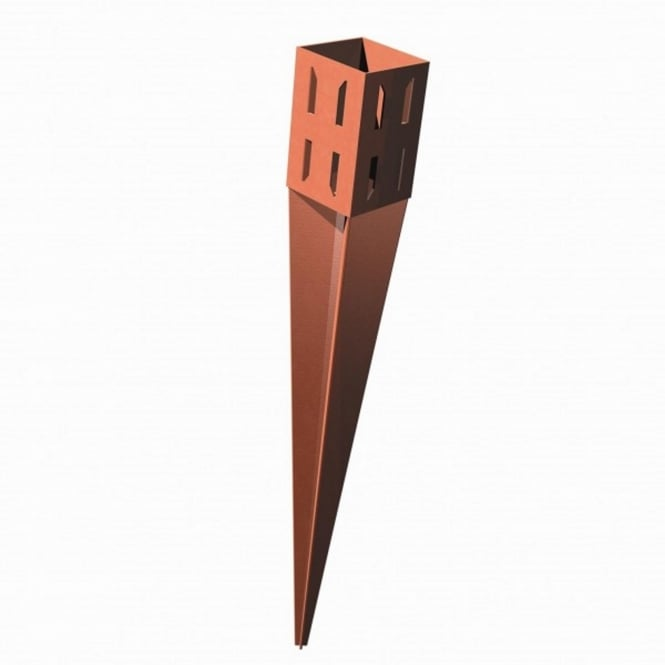 Metpost Wedge Grip Spike Post Support For 75mm Sq. Posts