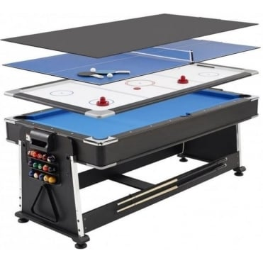 7ft Revolver 3-in-1 Pool / Table Tennis / Air Hockey Table