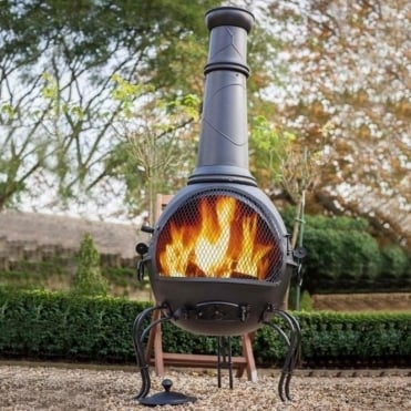 Murcia Chimenea With Grill Extra Large