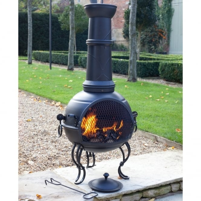 La Hacienda Murcia Chimenea With Grill Large