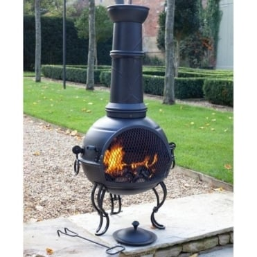 Murcia Chimenea With Grill Large