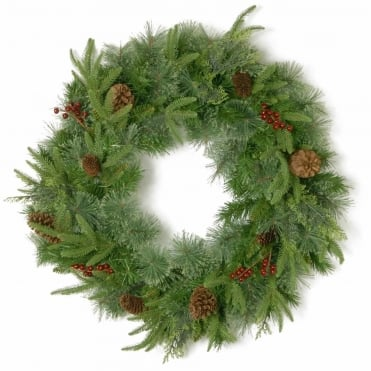 Cleveland Fir Feel-Real® Artificial Wreath 24