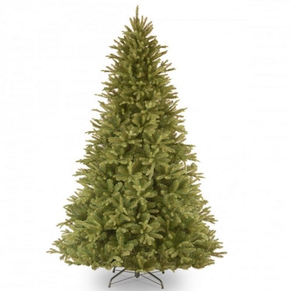 Christmas Tree In Garden: Edgewood Fir Feel-Real® Hinged Artificial Christmas Tree