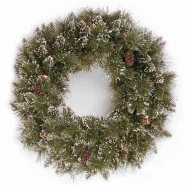 Sparkling Pine Artificial Wreath 24