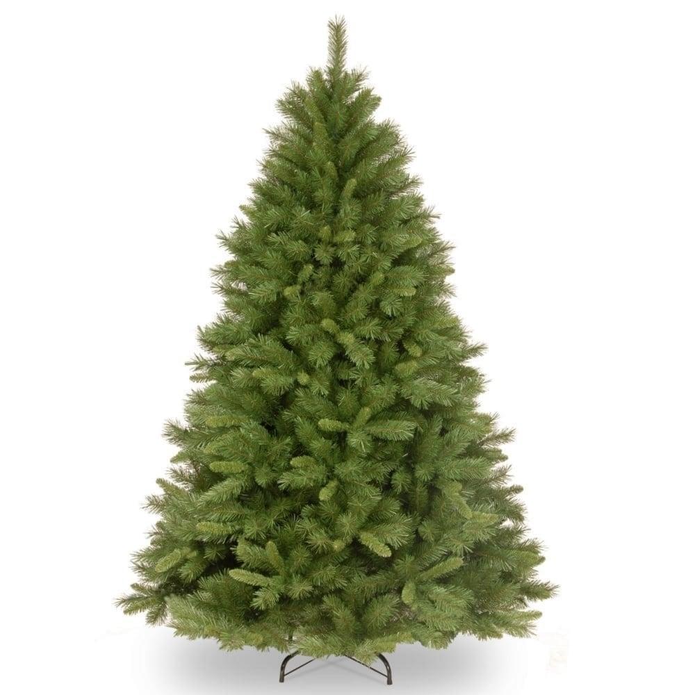 Christmas Tree In Garden: Windsor Pine Hinged Artificial Christmas Tree