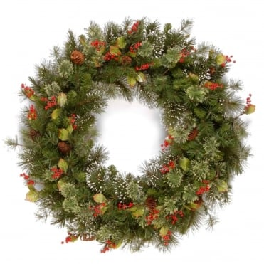 Woodbury Pine Artificial Wreath 24
