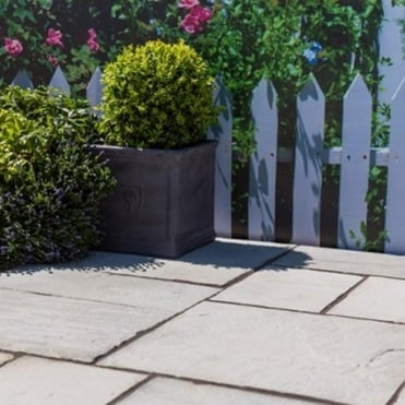 Natural Sandstone Patio Paving Kit 10.2m²