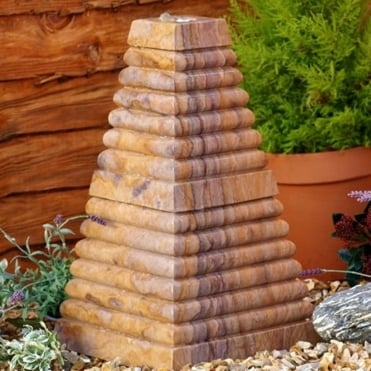 Natural Water Feature - Caspian Sea Pyramid (85kg)