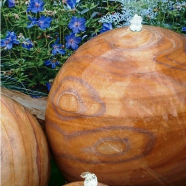 Natural Water Feature - Eastern Drilled Sphere 30cm (35kg)