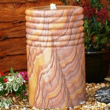 Natural Water Feature - Mediterranean Column (80kg)