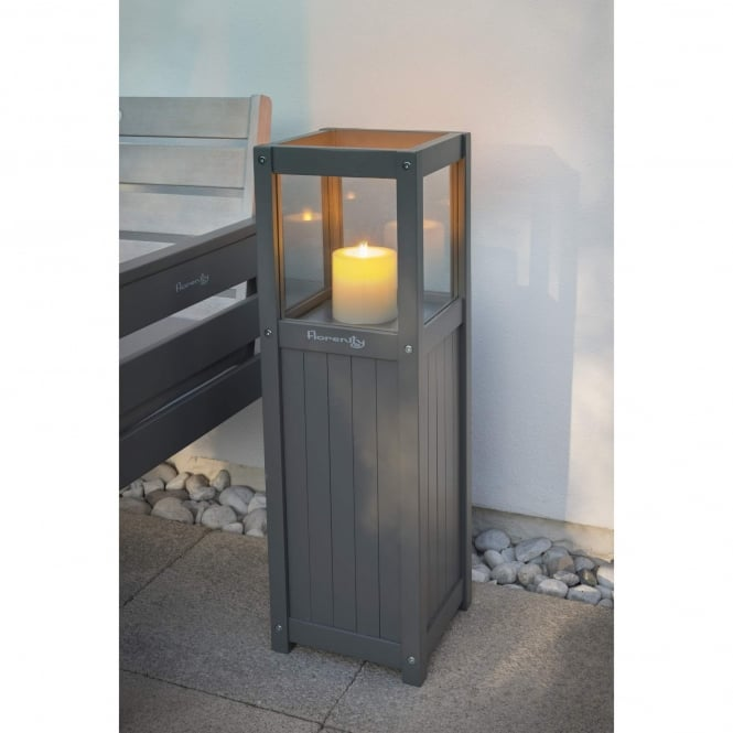 Norfolk Leisure Florenity Grigio Candle Garden Lamp